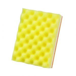 5lightrich Vague Surface Surface éponge Brosse Huile de lavage Dirt Remover Outil de nettoyage de cuisine Lavage Vapeur Éponge Random Color