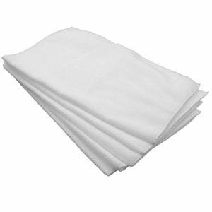 vhbw Lot de 5 Lingettes (tissu en microfibres) pour B&L Maxteamer balai vapeur, serpillière