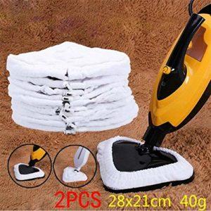 KDYSMWD Lot de 2 serpillères de rechange lavables et réutilisables