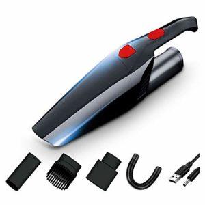 POWER BANKS Aspirateur à Main à Aspiration, aspirateur sans Fil, aspirateur Portable Portable et Sec pour Voiture, Batterie au Lithium Rechargeable de 2000 mAh