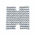 BJH Lot de 4 tampons de nettoyage en microfibre lavables pour balai à vapeur Shark S6001W / S6001WM / S6002 / S6003W / S5003A / S5003D / S 3973 / S3973D / S3973WM 4 pièces.
