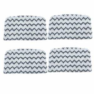BJJH Lot de 2/4 tampons de nettoyage de rechange lavables en microfibre pour balai à vapeur Shark S1000, S1000A, S1000C, S1000WM, S1001C 4 pièces.