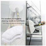 Spray Mop Microfibre Pads de nettoyage pour balai serpillère et balai Reveal Mops lavable pour carrelage et stratifié, réutilisable et lavable en machine, Blanc., 6
