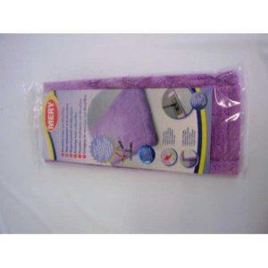 PLASTICOS HELGUEFER–Serpillère de rechange pour balai 45cm en micro fibre Lilas