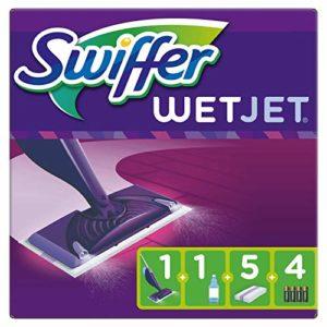 Swiffer WetJet Balai Lave Sol avec Spray, Kit de Démarrage