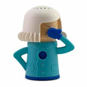 Huemny – Nettoyeur vapeur pour micro-ondes – Nettoyeur vapeur rapide pour micro-ondes et réfrigérateur