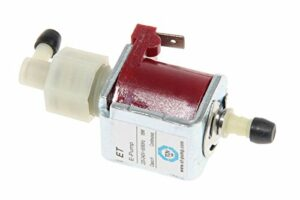 Ariete 4164 Pompe électrique ET e-Pump 18W + valve, pour balai à vapeur Steam Mop 10en 1