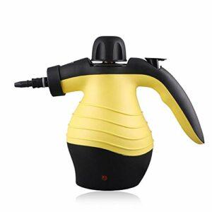 GUO Nettoyeur vapeur à main, nettoyeur à vapeur, nettoyeur à main, nettoyeur de matelas, pour escaliers, tapis, intérieur de voiture, etc.