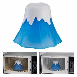 KiMiLIKE Cuisine Micro-Ondes Nettoyeur Volcan Erupting Haute température Nettoyeur Vapeur Nettoyeur de Volcan en éruption Vapeur Outils Cuisine Gadget