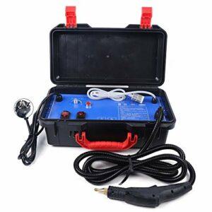 Nettoyeur Vapeur Portable Pression de Vapeur 3-5 Bar avec Alarme de Pénurie d'Eau