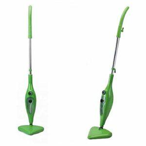 Balai vapeur amovible et portable H20 Mop X5 couleur vert