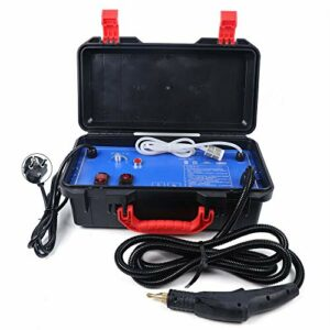Nettoyeur vapeur portable haute pression 3000 W pour cuisine, salle de bain, voiture, rideaux, tapis (température de vapeur : 100-130 °C)