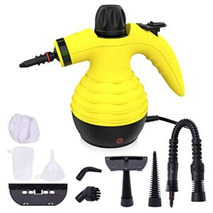 Nettoyeur vapeur portable – Nettoyeur vapeur à main – Nettoyeur à haute pression – Réservoir d'eau de 350 ml – Pour le nettoyage de la cuisine, de la baignoire