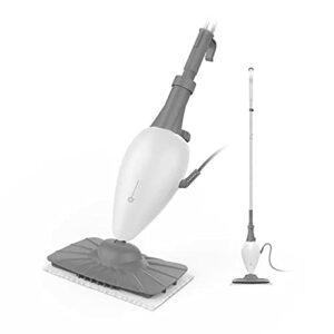 SDHKE Vapeur ménage Mop, Haute température Nettoyeur Vapeur, électrique à Main Mop, Blanc
