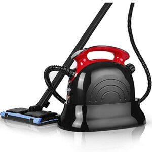 Nettoyeur à vapeur multifonction – Capacité : 1100 ml – Nettoyeur vapeur – Meubles rembourrés 1500 W – 4,5 bar – Avec 13 accessoires – Convient pour sol, cuisine, tapis, canapé, fenêtre, etc.